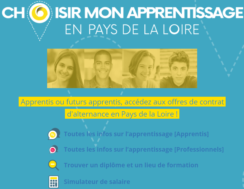 Apprentissage pays de la Loire